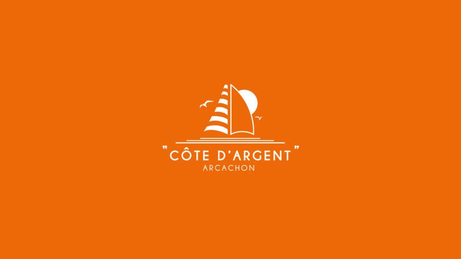 """Logo Le """"Côte d'Argent"""" Arcachon"""